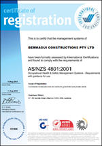 About Us - Bermagui Constructions -  Best Practice ASNZS-4801