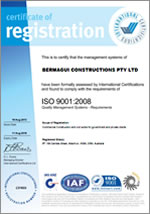About Us - Bermagui Constructions - Best Practice -ISO-9001-2008