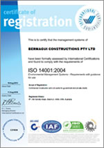 About Us - Bermagui Constructions - Best Practice -ISO-14001-2004